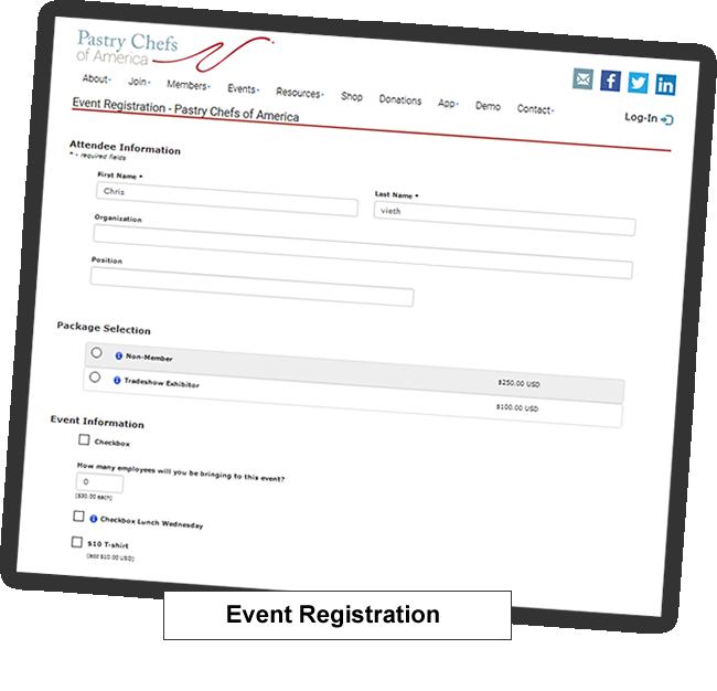 event management memberleap