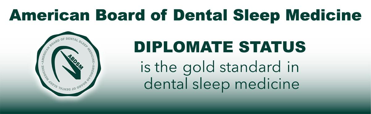 Banner: American Board of Dental Sleep Medicine