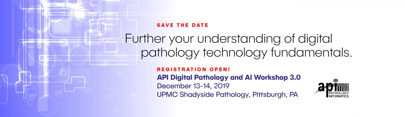 Pathology Informatics Summit 2019 - Association for Pathology